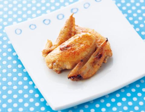 鶏手羽先のスパイシー焼き