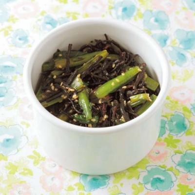 ひじきと小松菜のナムル