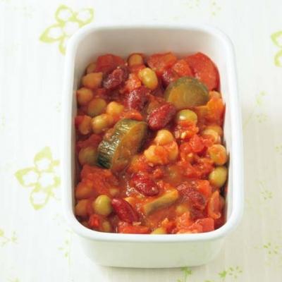ミックスビーンズのトマト煮