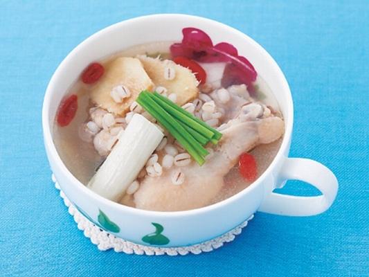 サムゲタン風スープの完成イメージ