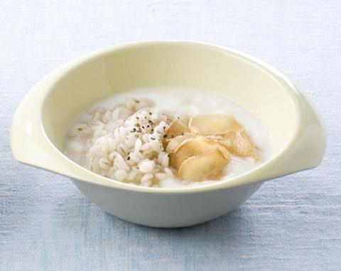 大麦ヨーグルト はちみつジンジャーかけの完成イメージ