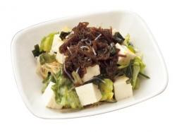もずくと豆腐のヌルッと中華サラダ