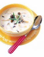 きのこのスープの完成イメージ
