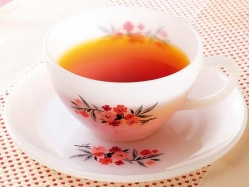 ローズヒップしょうが紅茶の完成イメージ