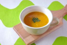 食べるかぼちゃの和だしスープ
