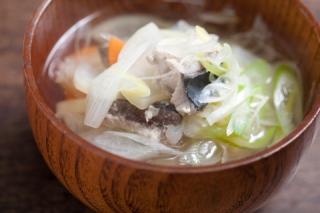 腸内環境を整える! あったかスープ&みそ汁でダイエット