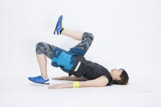 寝ながらでOK!ヒップも鍛える腰痛予防エクササイズ