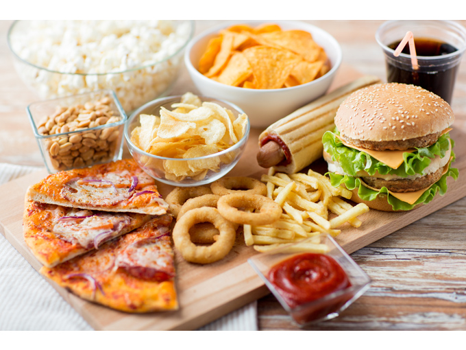 大量の食べ物