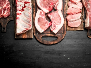 さまざまな種類のお肉