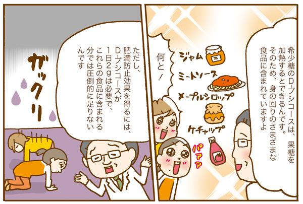 【漫画連載】1週間で-2.5kg!希少糖ダイエット実践レポート