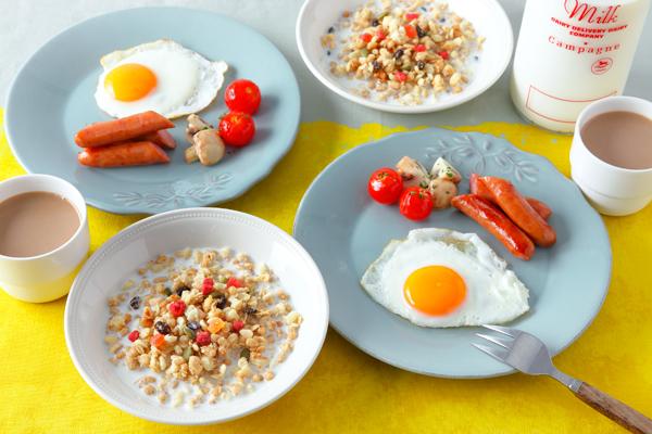 フルグラにプラスするとGoodな栄養素って何? 5分でつくれるバランス朝食レシピ3選