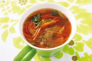 材料を切って入れるだけ!ダイエットスープ の時短レシピ