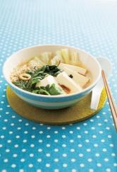 夏バテでだるい日はパパッと湯豆腐!レンジで5分レシピ