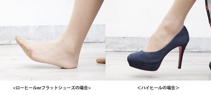 美しい足の着地の仕方