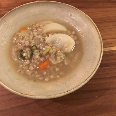 これは新感覚!「お鍋の〆に雑穀を」。モデルAYUMI流の雑穀レシピ