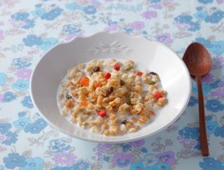 新発見!フルーツ入りグラノーラ朝食は女性のQOLを向上させるスグレものだった!