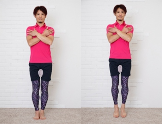 太もものすき間をつくって細くする!  美脚エクササイズ&マッサージ