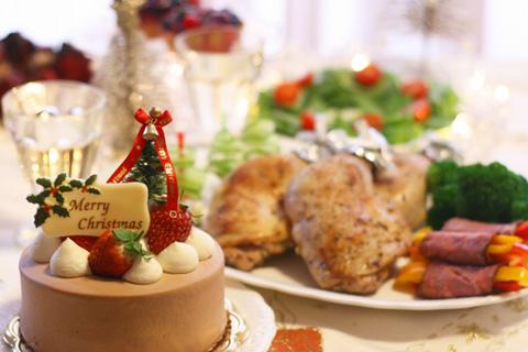 クリスマスの夜 食べ過ぎを抑えるコツと体重を戻す秘訣