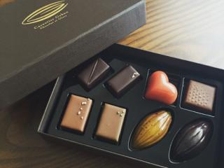 高級感のあるチョコレート