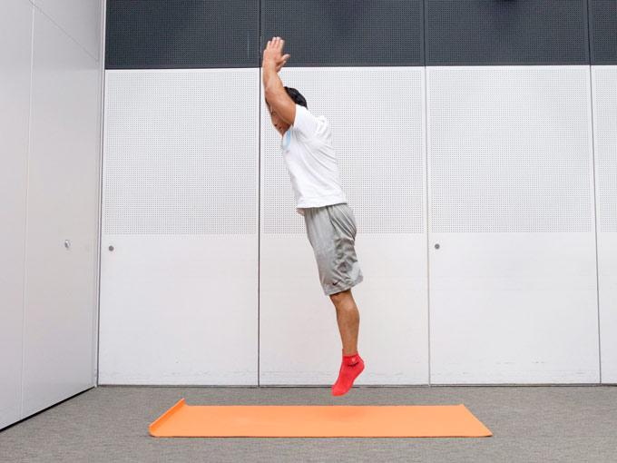 心拍数を上げる全身運動