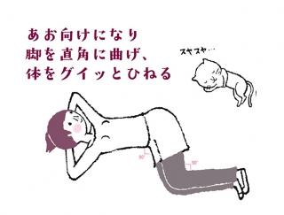 【今日のねこストレッチ】背骨の下部をほぐしてしなやかボディへ!