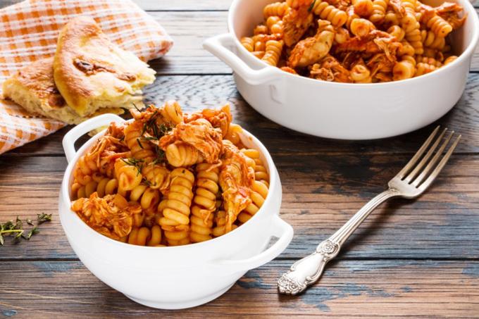 パスタやパンなど炭水化物の料理