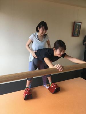 イタリア生まれの美脚トレーニング「マスターストレッチ」を体験!