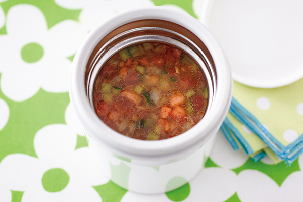 材料を切って入れるだけ!時短&簡単なダイエットスープレシピ