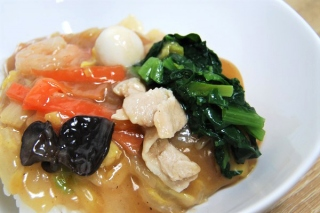 「もうパーフェクト!」「ペロッといけちゃう」濃厚あんと豊富な野菜がベストマッチの「中華丼」