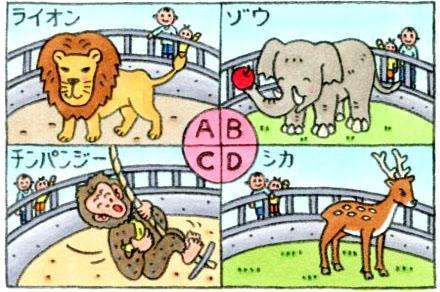 【心理テスト】冬の動物園に行って、そこで最初に見た動物は?