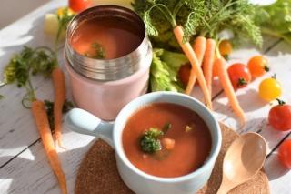 【朝パパッとつくれて便利! スープジャーに入れるだけ簡単美腸スープ3種】