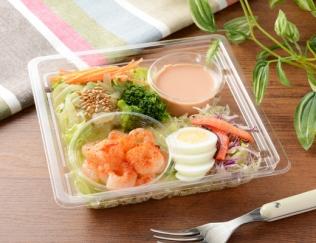 「海老がおいしい!」サラダだけでお腹いっぱいになれる「ぷりぷり海老と玉子のサラダ」