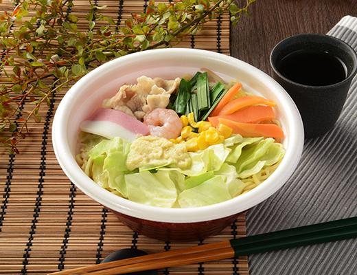 「コシがあって旨かった!」野菜を味わい豊かに堪能できる「味噌タンメン」がローソンに新登場