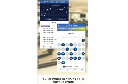 フィットネスアーカイブの画面2