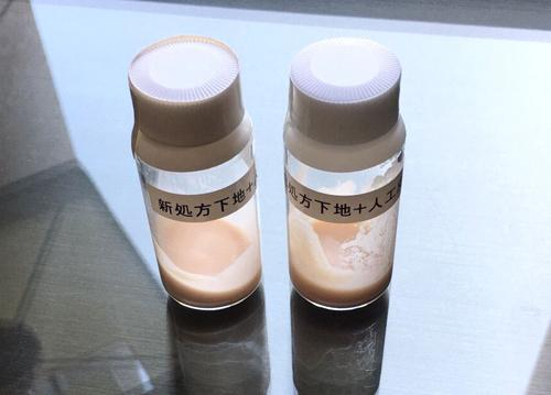 新配合された皮脂を吸収する粉体の画像