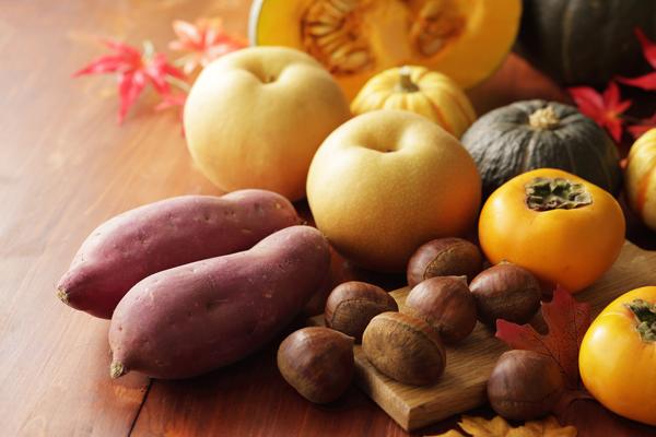 秋の味覚のさつまいも、栗、かぼちゃ、カロリー・糖質が高いのはどれ!?