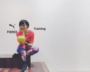 目指すべくは強く美しい女性! PUMA「FIERCE」を履いて秘密のトレーニング!