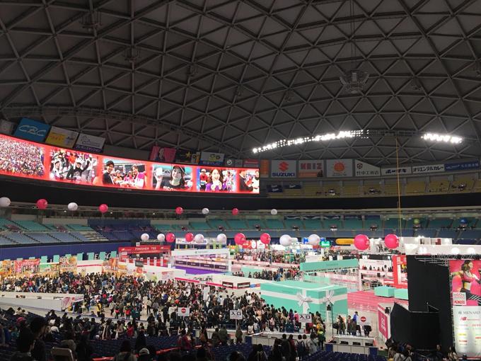 名古屋ウイメンズマラソン前日のEXPO館内