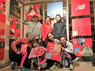名古屋ウイメンズマラソン完走メンバーと記念写真