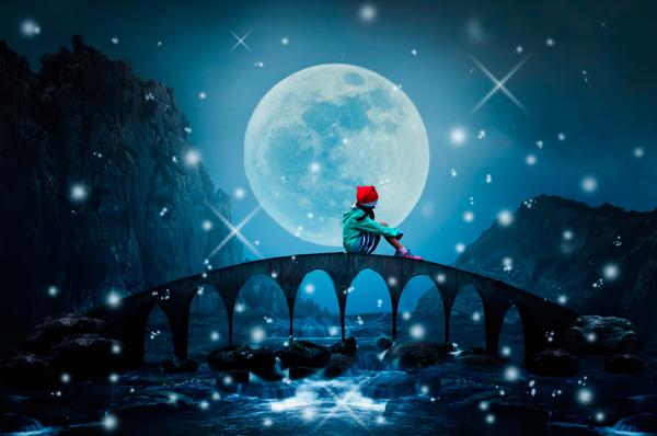 「内面に磨きをかけて!満月の夜がラッキーDay」(11月7日〜1月16日生まれの3月の運勢)漢方女神占い