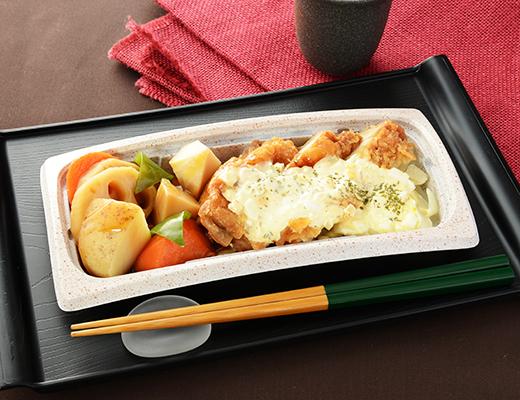 公式サイトに掲載された「チキン南蛮&ごろごろ野菜」の画像