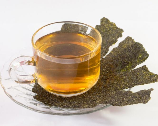 お茶と海苔の画像
