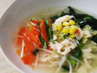 7種の野菜が食べ応え抜群! ダイエット中の人にもおすすめのファミマ新作「7種野菜の鶏塩スープ」