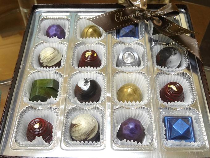 宝石のようなチョコレート