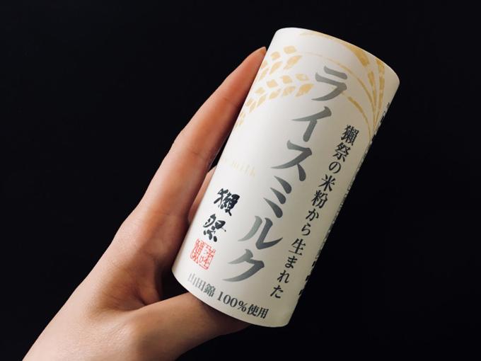 日本酒「獺祭」の米粉から生まれたという『ライスミルク』