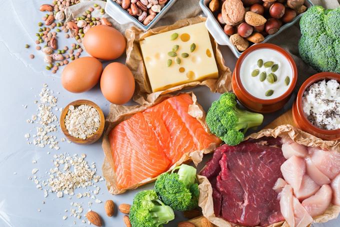 三大栄養素を含んだ食材