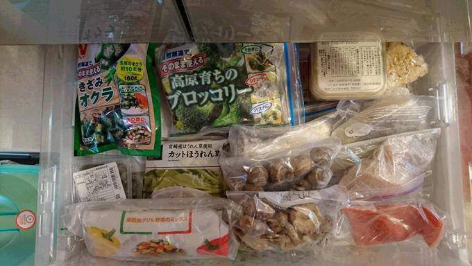松村先生の冷凍室