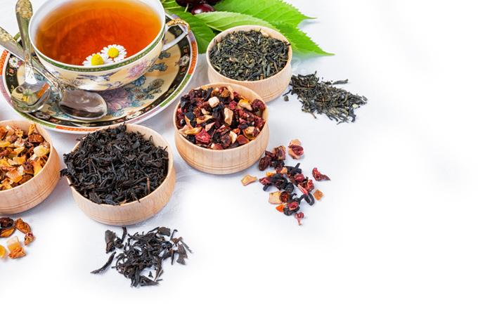 紅茶とハーブ