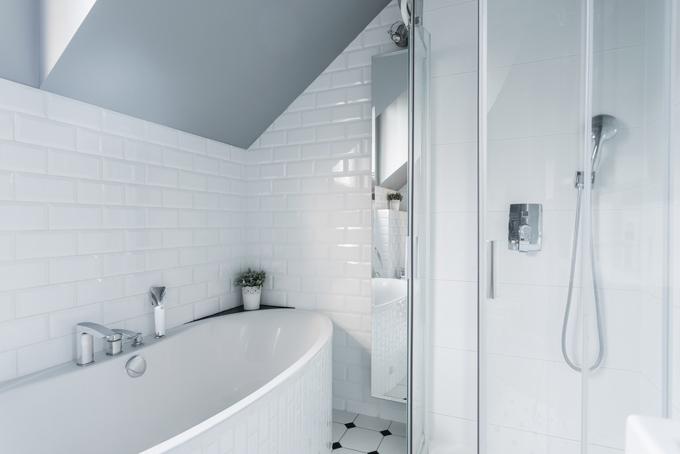 家の浴室の画像