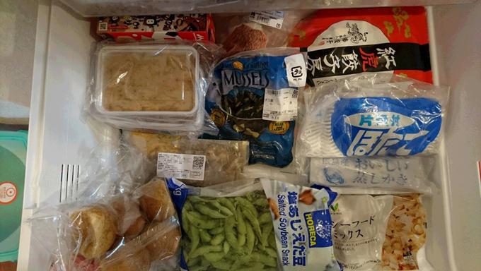 松村先生の冷凍室2